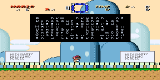 Screenshot Thumbnail / Media File 1 for Super Mario World (USA) [Hack by Stark v1.0Beta] (~Mario's Return Again)